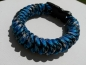 Armband in blau- Paracord